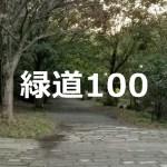 爽やかだけど超ハード「緑道100」