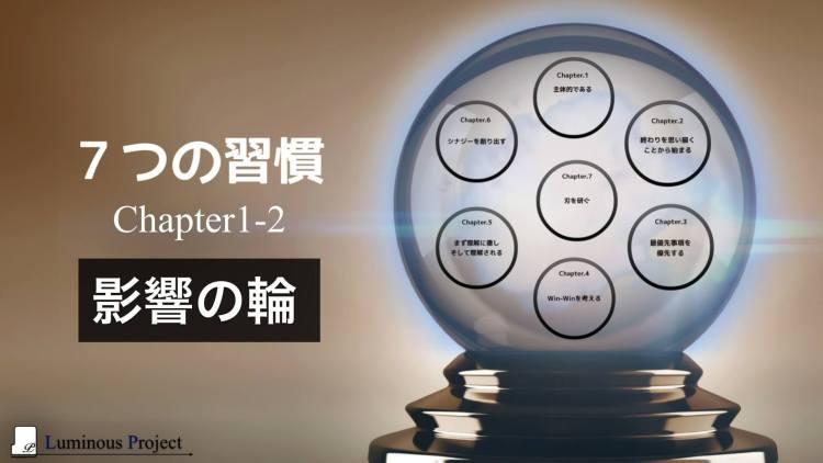 【7つの習慣】Chapter1-2 影響の輪
