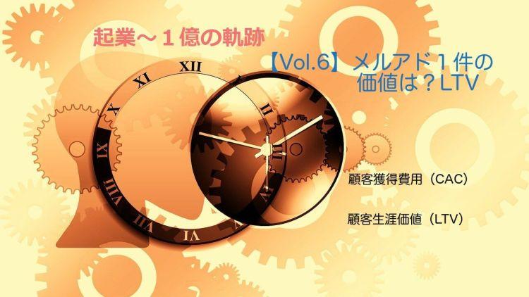 【Vol.6】メルアド1件の価値は?LTV(ライフ・タイム・バリュー) 【起業するには,起業失敗,学ぶ】