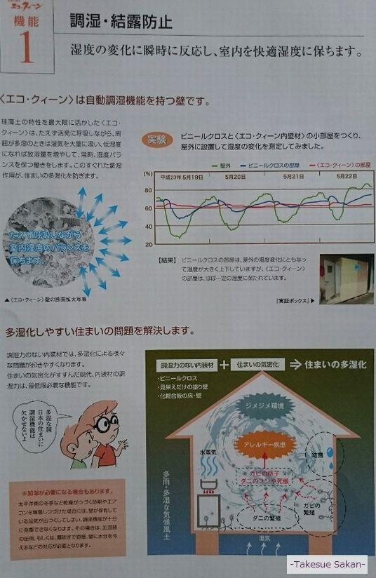 エコ・クィーンの調湿機能