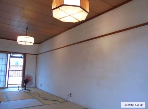 エコ・クィーンで塗り替えた和室