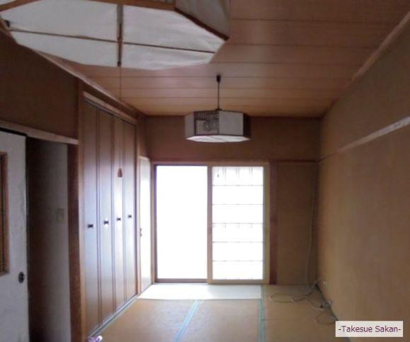 戸建て住宅 和室ビフォー