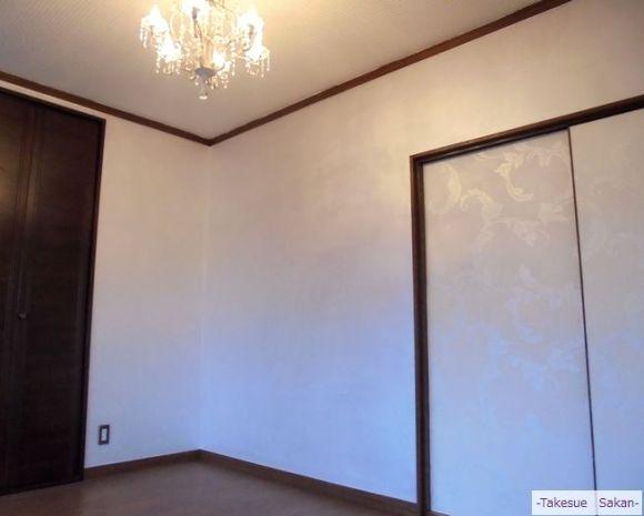 洋室壁 メタルファス塗装