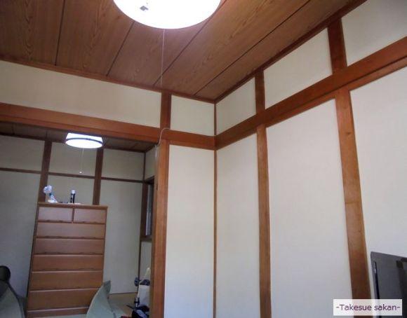 砂壁塗り替え 和室 東大阪