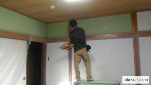 和室塗り替え1