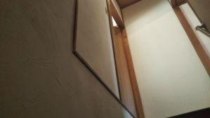 階段壁の施工