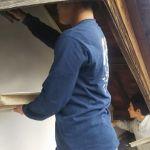 戸建て住宅外壁の漆喰仕上げ
