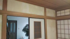 リフォーム後の和室壁