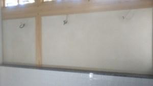 トイレ壁 漆喰