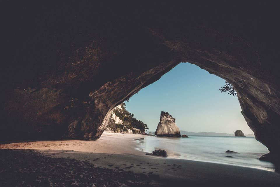 cathedral cove, New Zealand