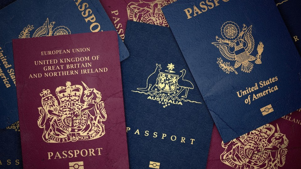 don't forget to take your passport