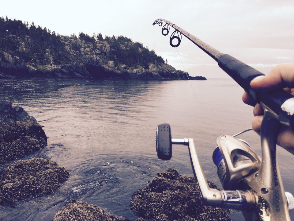 Fishing, Sooke, Vancouver Island, Vancouver, Canada