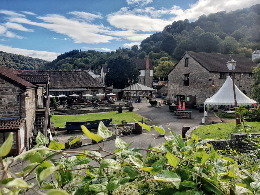 Tintern, Forest of Dean and Wye Valley, England, Uk