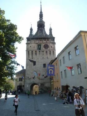 Turnul cu ceas din Sighișoara Photo: Messe Stuttgart