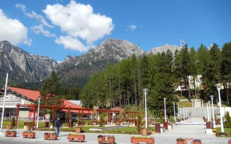 Parcul din orașul Bușteni