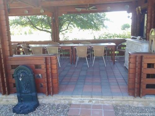 Terasă pentru luat masa