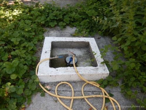 Deversarea toaletei chimice