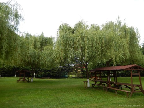 Camping Vasskert - spațiu pentru luat masa