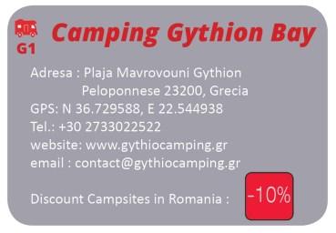 detalii camping Gythion Bay