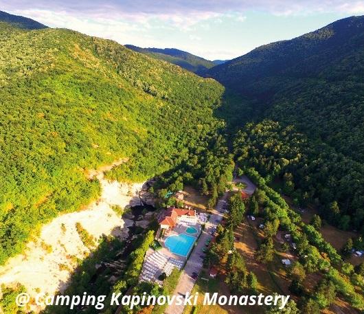 Camping Kapinovski Monastery, Bulgaria
