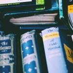 溢れそうな本たち