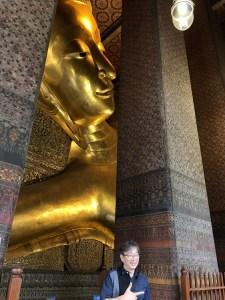バンコク ワット・ポー(寝仏寺)の大寝釈迦仏