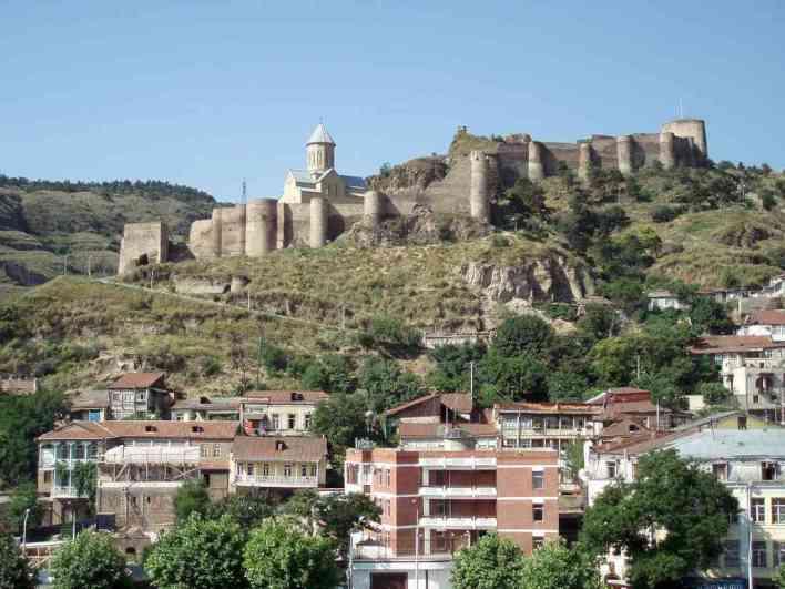 تبليسي قلعة ناريكالا