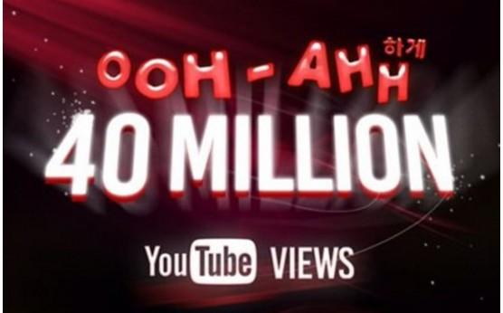 TWICE『OOH-AHH』ユーチューブ公開129日で4000万ビュー突破!