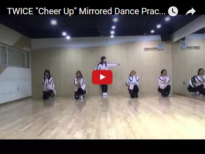 TWICE CHEER UP Dance Version【動画】