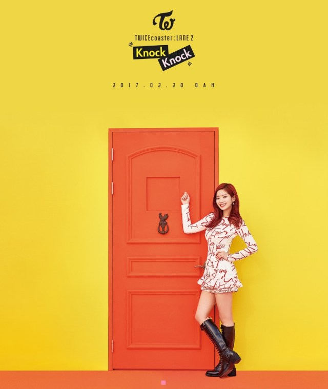 TWICE 「Knock Knock」ダヒョン