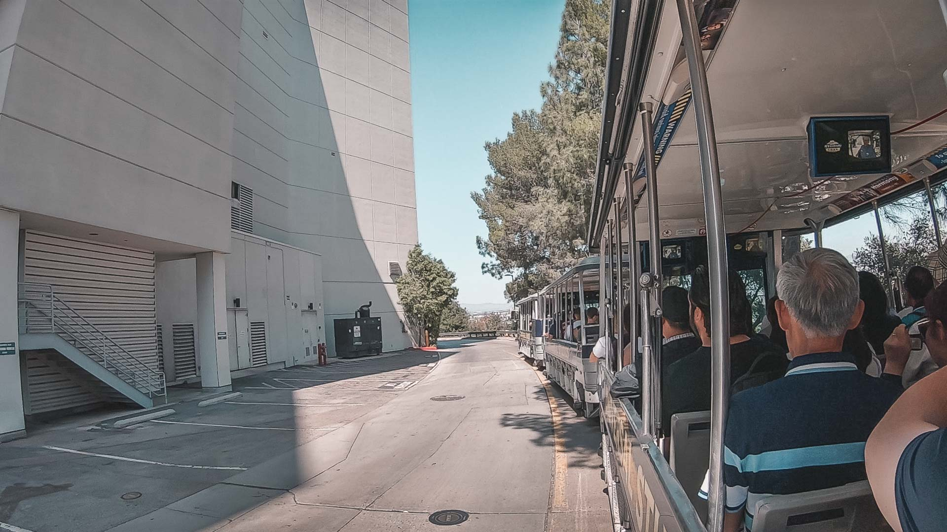 kolejka Studio Tour w Universal Studios Hollywood