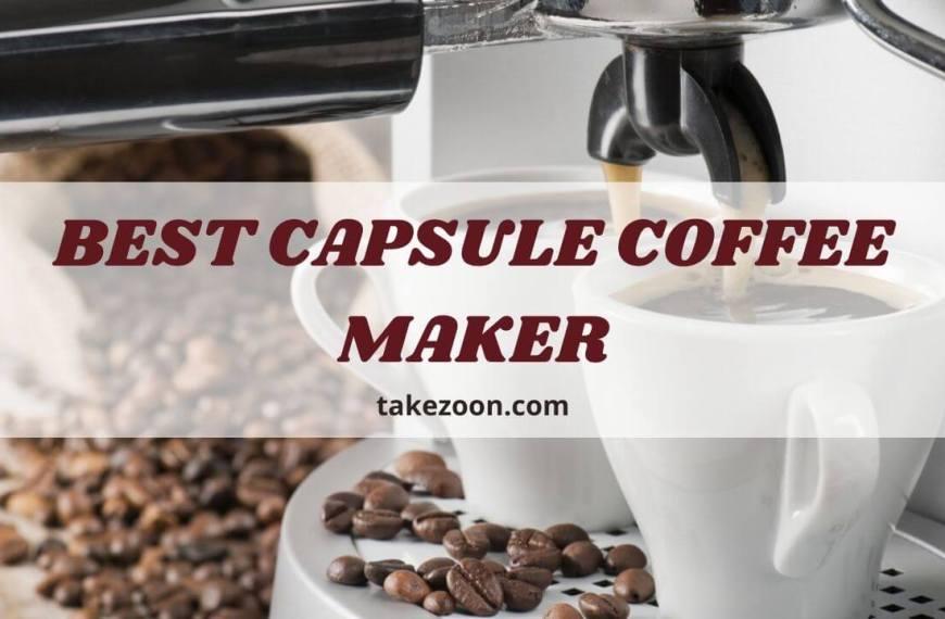 Top 8 || Best Capsule Coffee Maker