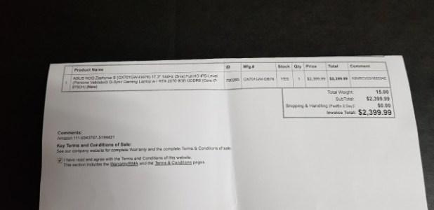 تجربة شراء لابتوب Laptop نحيف للجيمينج Gaming أسوس ASUS GX7013