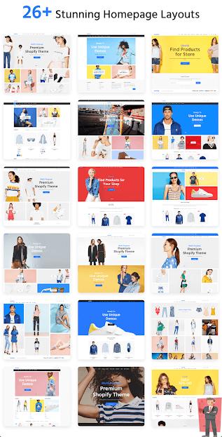 أفضل قالب شوبيفاي Shopify في سنة 2021 2