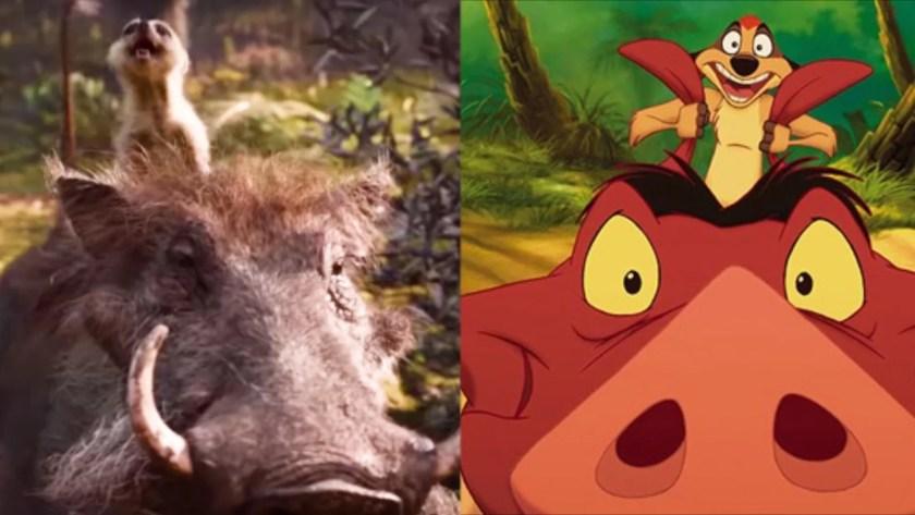 Król Lew Timon i Pumba