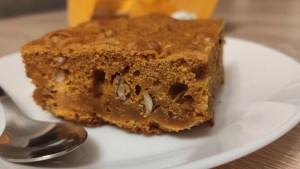 Ciasto dyniowe z orzechami laskowymi