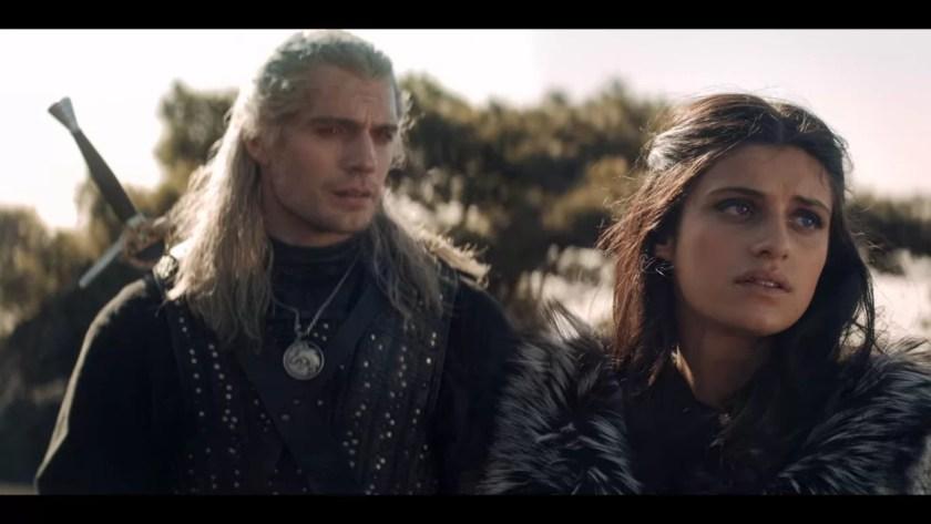 Wiedźmin - Geralt i Yennefer