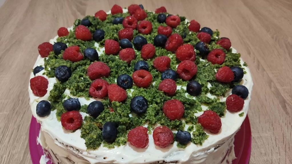 Leśny mech tort