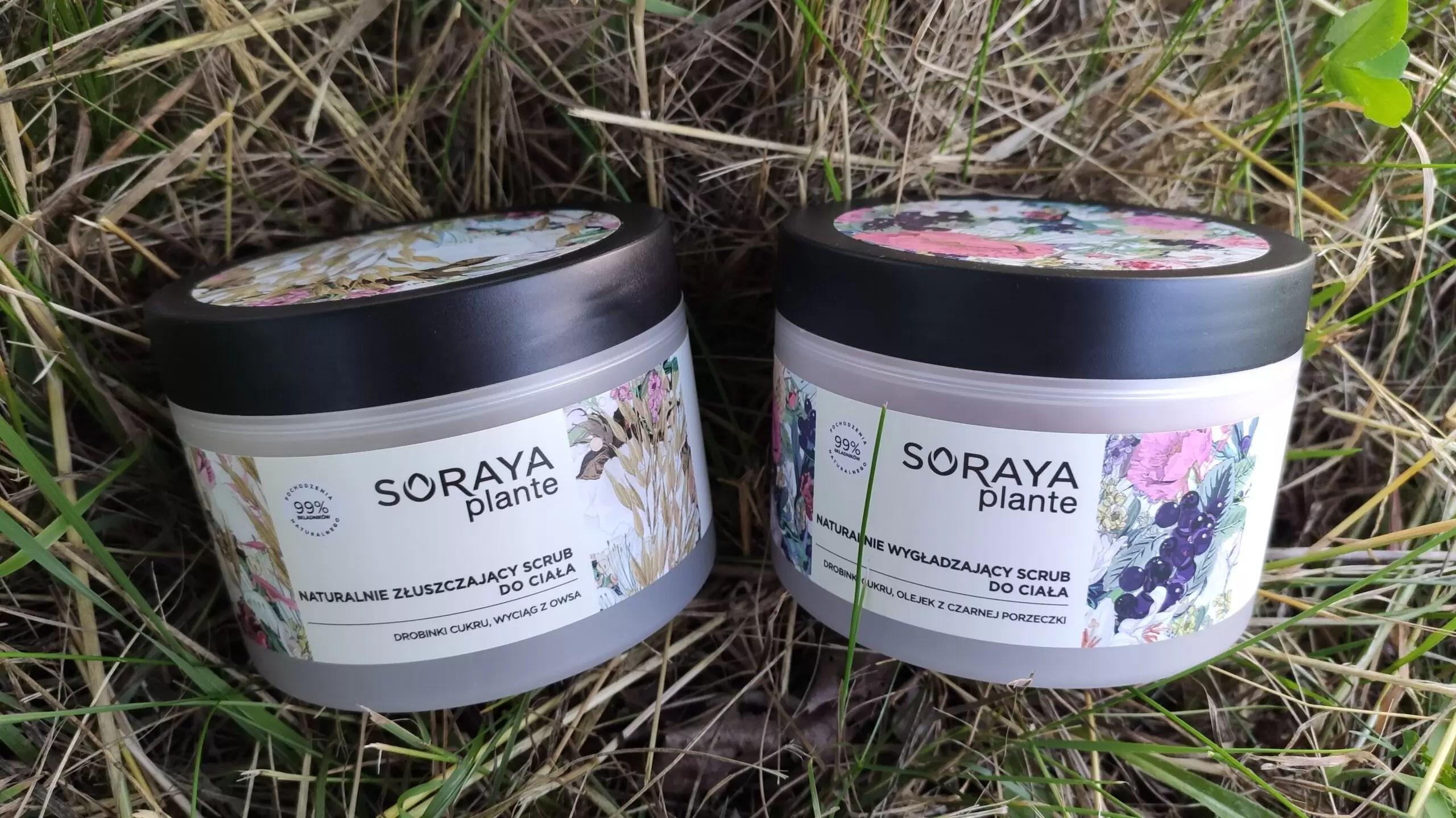 Soraya Plante naturalny scrub do ciała