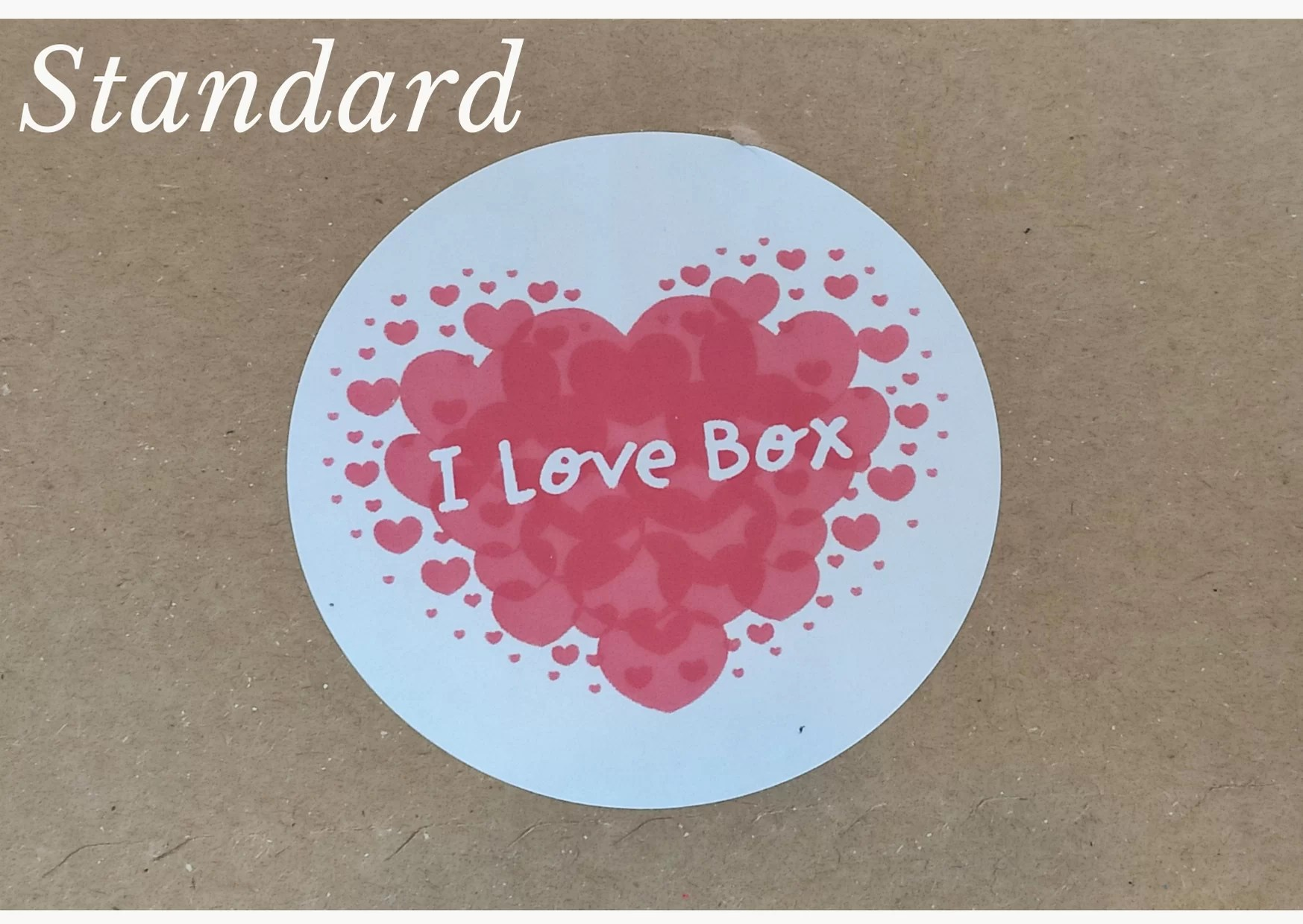 I love box standard