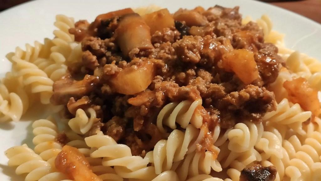 Spaghetti na słodko