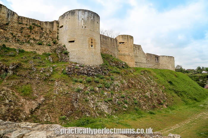 Normandy family attractions - William the Conqueror's Castle in Falaise