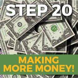 making more money