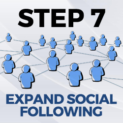 expand social following