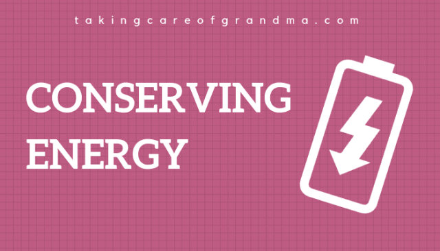 Conserving Energy: How I Channel My Guilt To Achieve Self Care