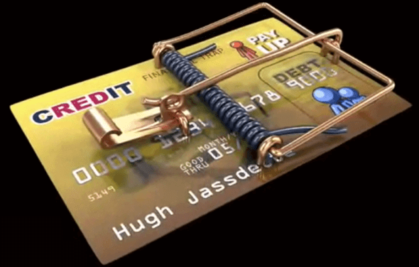 be aware of the evil credit card