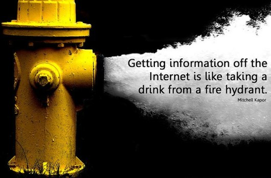 enjoy our sips of information
