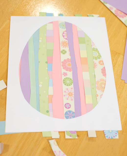 Easter Egg Paper Craft for Kids
