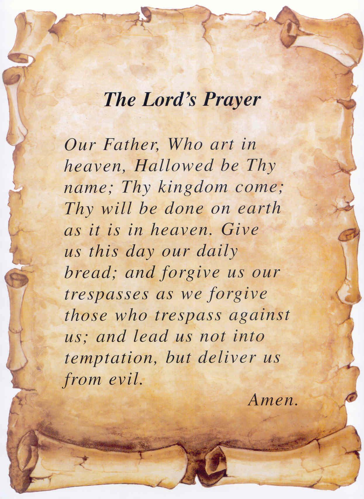 The Lord S Prayer Part 2 Thy Kingdom Come Thy Will Be