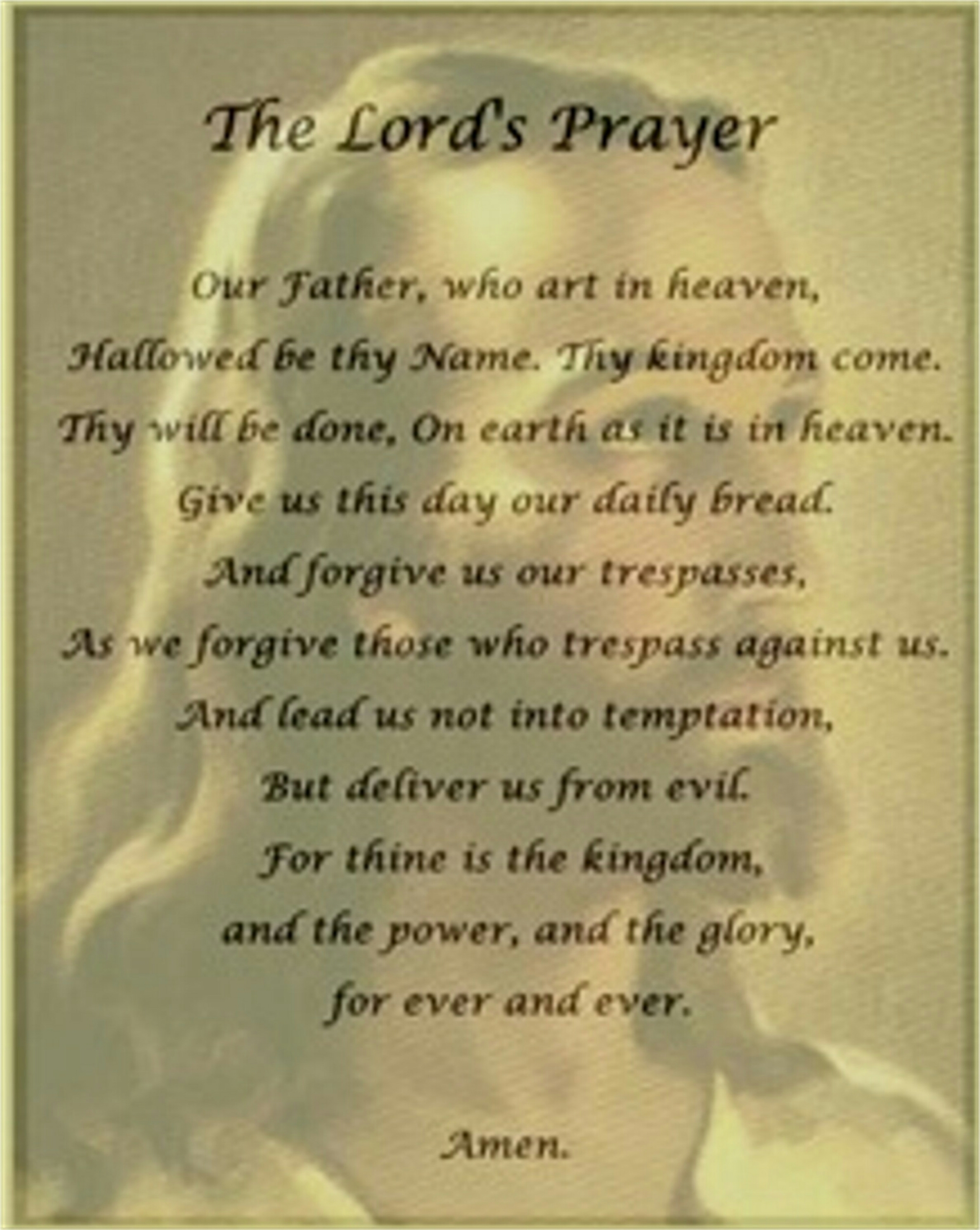 The Lord S Prayer Part 5 And Lead Us Not Into
